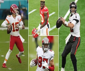 Super Bowl LV picks (The Guardian)