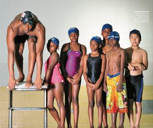 Cullen Jones throws minority swimmers a lifeline (Sports Illustrated)
