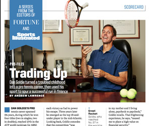 An ace investing wizard (Sports Illustrated/Fortune)