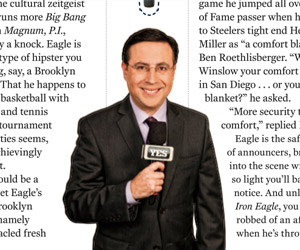 Ian Eagle, a criminally underrated announcer (Sports Illustrated)