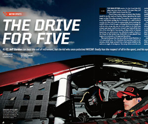 Gordon's drive for five (Sports Illustrated)