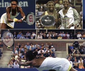 Williams vs. Williams, 10 years later (US Open program)