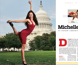 Catching up with American ice queen Michelle Kwan (Sports Illustrated)