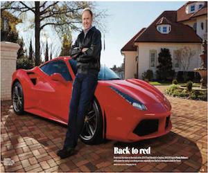 Rusty rides again (Ferrari Magazine)