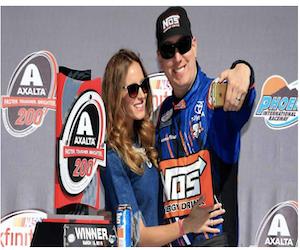 NASCAR moonlighting