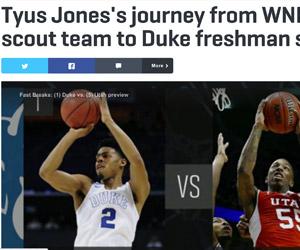 Tyus Jones: best scout team player in WNBA history? (SI.com)