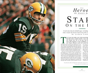 The making of Bart Starr (Sports Illustrated Presents)