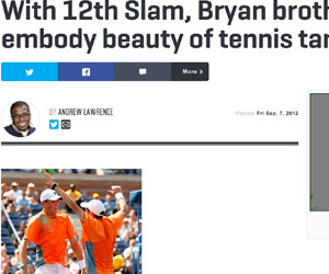 The Brian Bros, the last truly dynamic duo (SI.com)