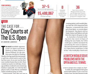 Point: Americans should play on clay (Sports Illustrated)