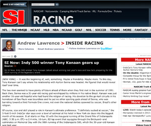 Kanaan and Senna (SI.com)